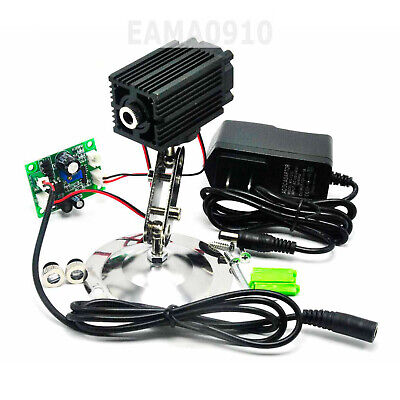 980nm 200mw Dotlinecross Infrared Ir Laser Diode Module W12v Adapter Holder