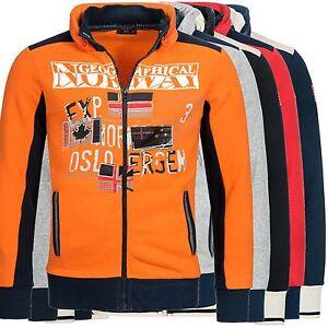 Geographical Norway femporio chaqueta de punto sweatjacke chaqueta suéter Hoodie S-XXXL