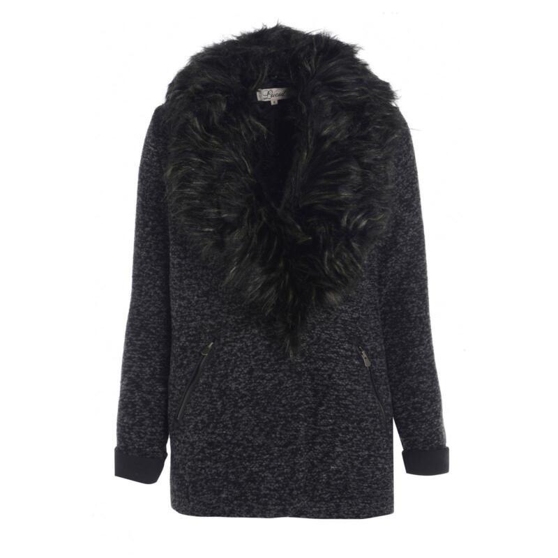 Long Black Fur Coat Ebay