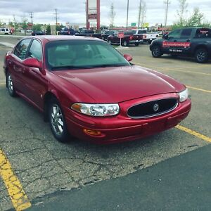 Red Buick lesabe for sale. 2000
