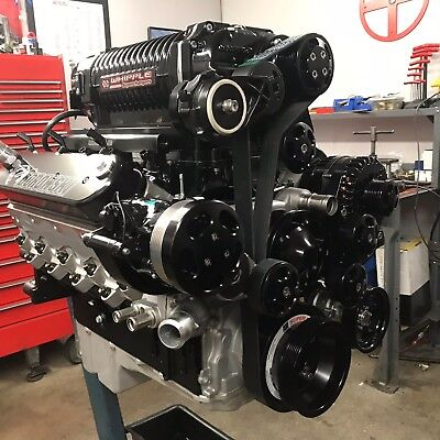 427 ci Crate Engine, 1,275 HP, Dart LS Next Block, Whipple 4.5L Supercharger