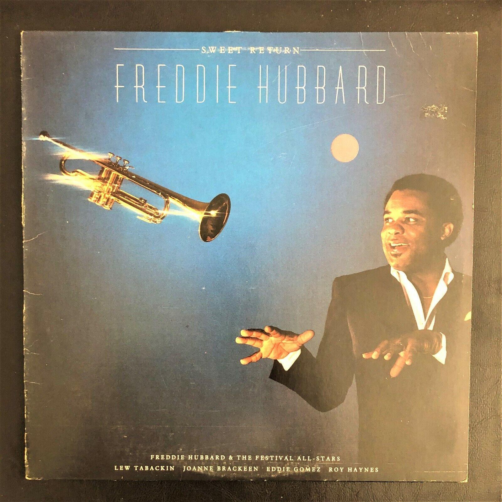 Freddie Hubbard Sweet Return 1983 Like New Vinyl LP - $11.99