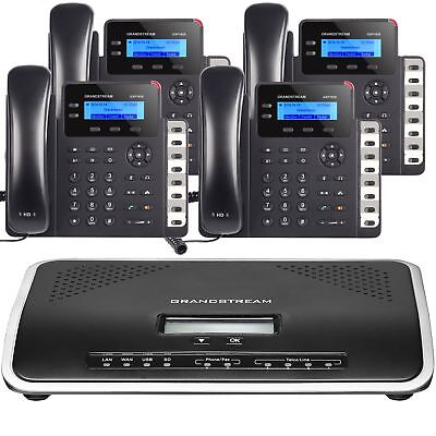 Business Phone System By Grandstream Starter Package 1 Year 2 Lines Dialtone