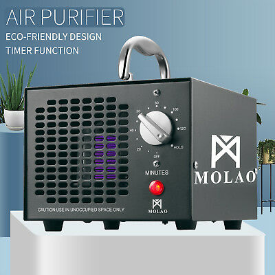 Commercial 5,000mg/h Ozone Generator Air Purifier Deodorizer Smoke Odor Cleaner