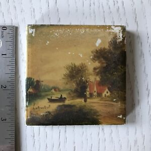 Dutch Painted Scenic Tile
