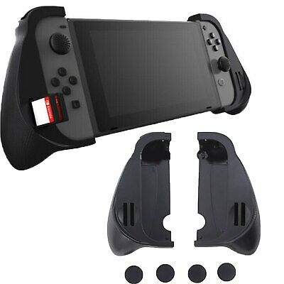 Dockable Trigger Left & Right Hand Grip Case Caps for Nintendo Switch NS Joy-Con