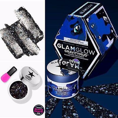 GlamGlow Gravitymud Firming Face Mask - My Little Pony Black Glitter 1.7oz NEW - My Little Pony Face Mask