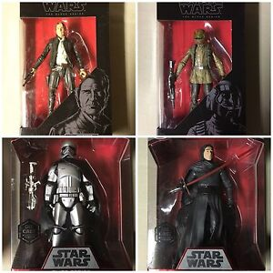 Star Wars black series Disney elite lot