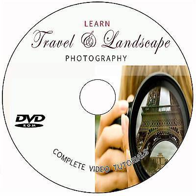 LEARN TRAVEL AND LANDSCAPE DIGITAL PHOTOGRAPHY TRAINING VIDEO TUTORIALS on DVD