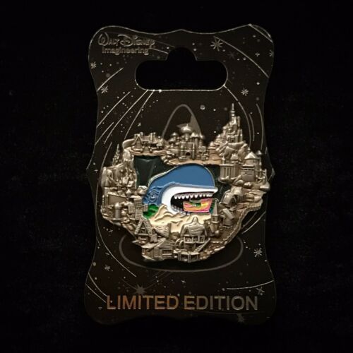 WDI LE Monstro Whale Storybook Canal Boat Attraction Stained Glass DL Disney Pin - $59.99