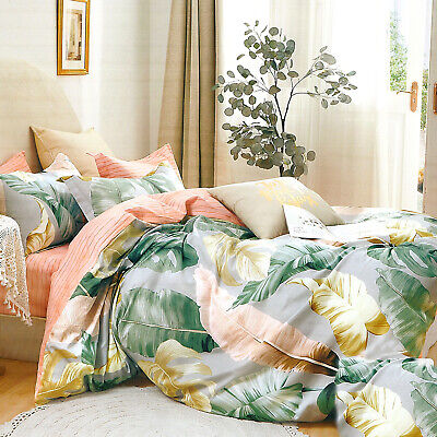 4tlg. Bettwäsche 160x200 Deckenbezug 70x80 Kissenbezug Schlafzimmer Garnitur