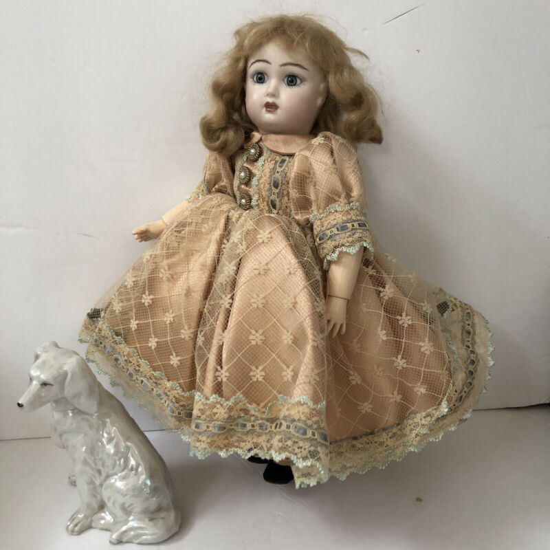 Victorian Regencycore DRESS for BLEUETTE Antique Doll Reproduction
