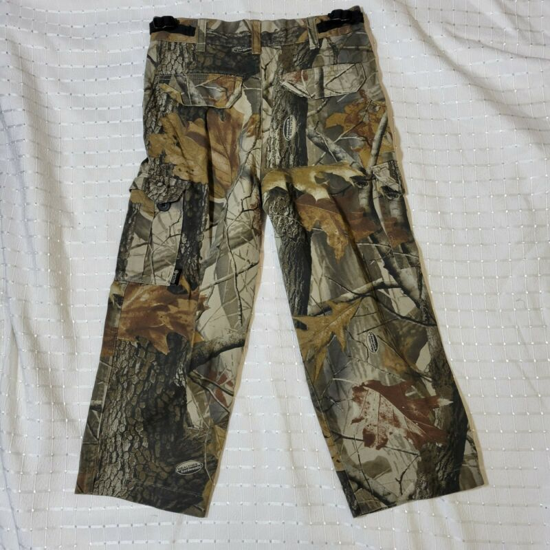 BOYS YOUTH CAMOUFLAGE PANTS REALTREE CAMO HUNTING S 6/7  Outfitters Ridge