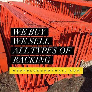 Racking , we buy we sell