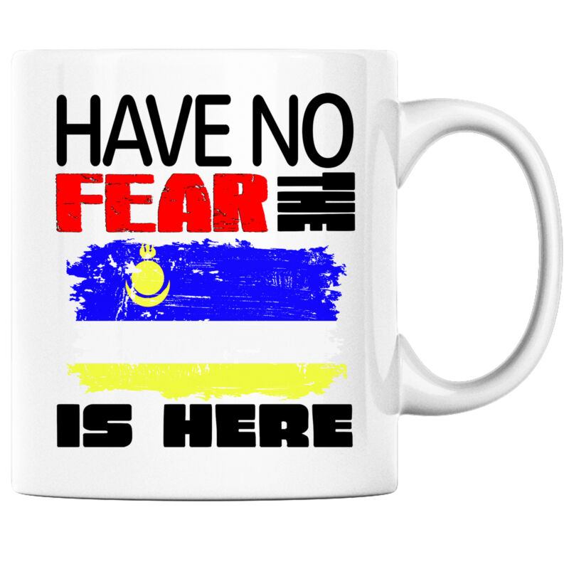 Have No Fear the Buryatian is Here Funny Coffee Mug Buryatia Heritage Pride