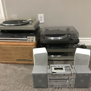 Downsizing, selling large stereo equipment collection