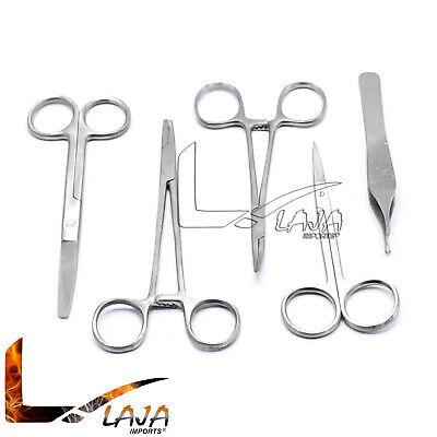 5 Pc Student Suture Surgical Kit Lab Se Instruments
