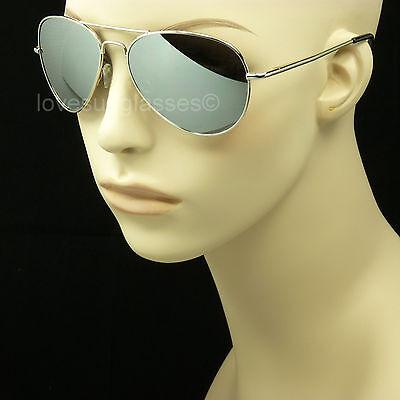 Fishing Sunglasses Silver Mirror Lenses - Polarized sunglasses men women aviator silver mirror fish anti glare frame lens