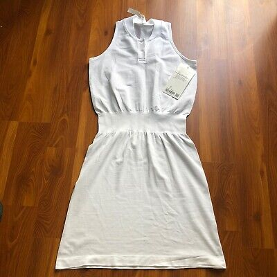 Lululemon In Your Court Dress White / White Size 4
