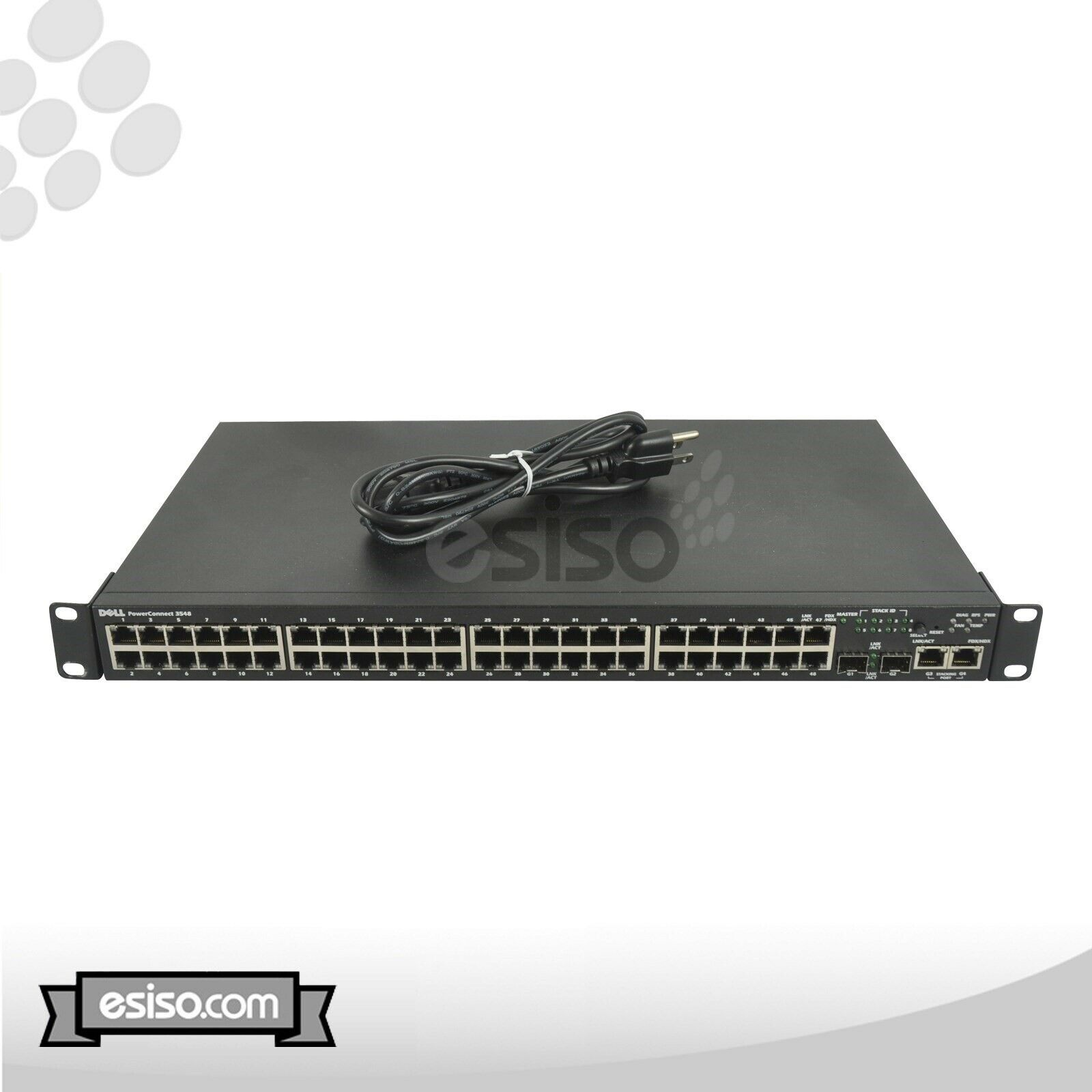Dell PowerConnect 3548 48-Port 10//100 Fully Managed Switch