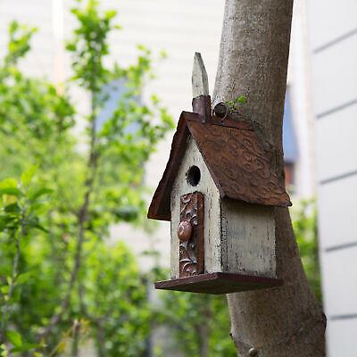 Hanging Decorative Birdhouse - Glitzhome 13.9