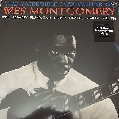 WES MONTGOMERY 'THE INCREDIBLE JAZZ GUITAR' LP VINYL NEW & SEALED