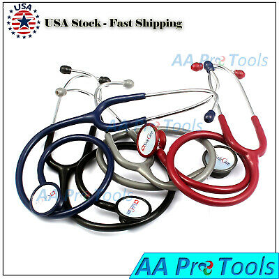 Professional Cardiology Stethoscope Black Blue Purple Pick Up Your Color