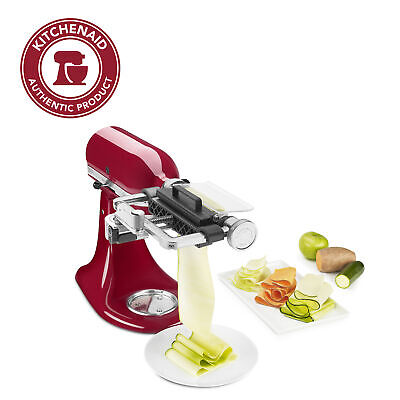 Kitchenaid Vegetable Sheet Cutter Attachment With Noodle Blade Ksm2sca