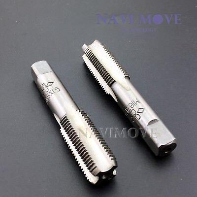 New Hss 16mmx1.5 Metric Taper Plug Tap Right Hand Thread M16x1.5mm Pitch Usa