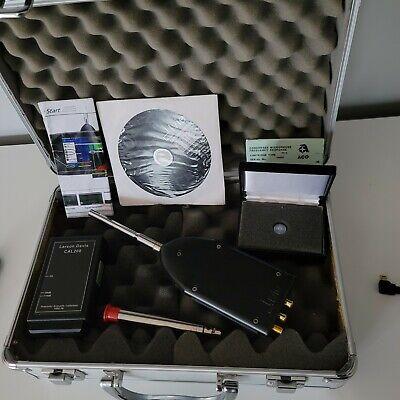 Larson Davis Cal200 Calibrator Ivie Ie-45 Audio Spectrum Analyzer Type 12 Mic