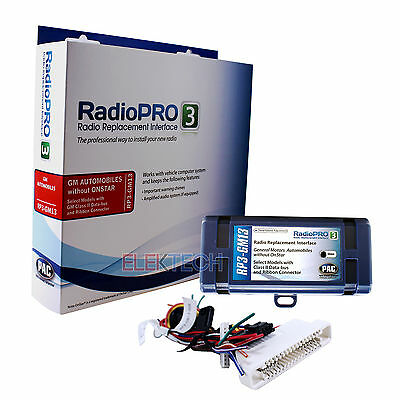 Radio Replacement Interface for Class-2 Bus/NON-Onstar Buick/Pontiac/Oldsmobile Bus Radio Replacement Interface