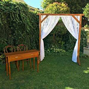 Rustic / Vintage Ceremony Hire Package Coogee Cockburn Area Preview