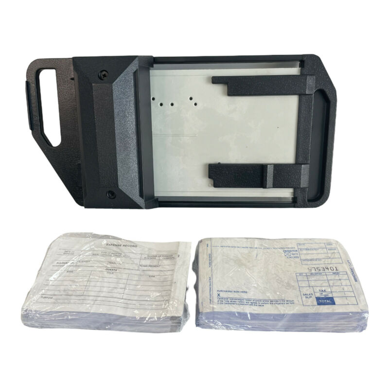 Addressograph Bartizan 4000 Series Credit Card Imprinter With 2 Short Slips Pack