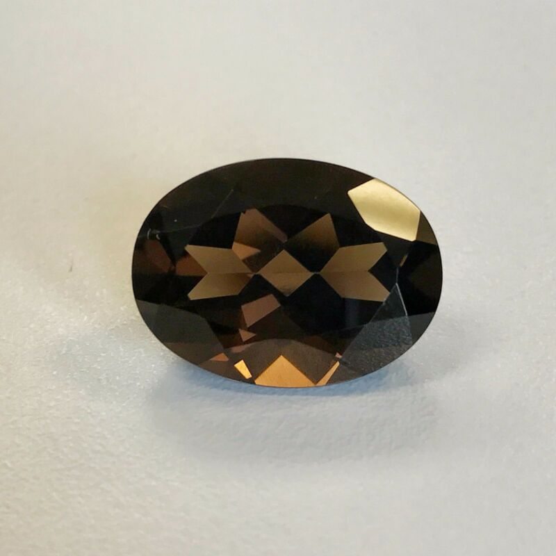 Natural 9 x 7 - 20 x 15 mm Oval Loose Smoky Quartz Gemstone