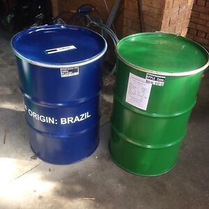 Good grade metal drums with lids Marrickville Marrickville Area Preview