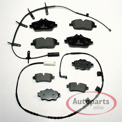 TEXTAR Bremsbeläge für BMW 2er F45 F46 X1 F48 X2 F39 i3 MINI F54 F60 hinten