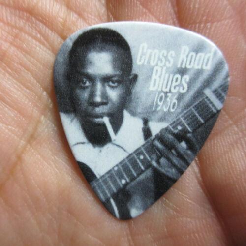 ROBERT JOHNSON Collectors Guitar Pick 1936 Cross Roads Blues Commemorative