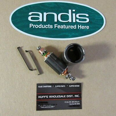 Andis Clipper Parts Armature and Field Coil & 2-Clips Fits all AGC Ultra and AG