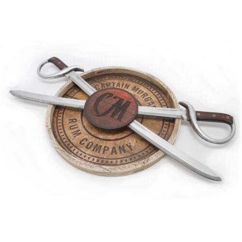 Captain Morgan 3D Swords Bar Sign