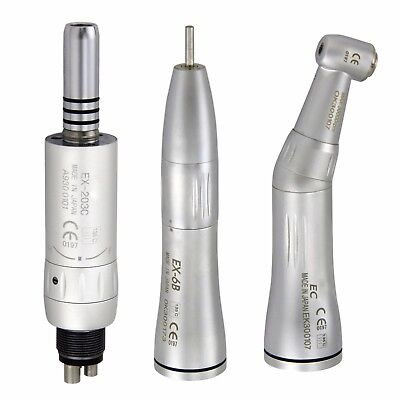 Dental Inner Water Straight Nose Contra Angle Air Motor Low Speed Handpiece Nsk