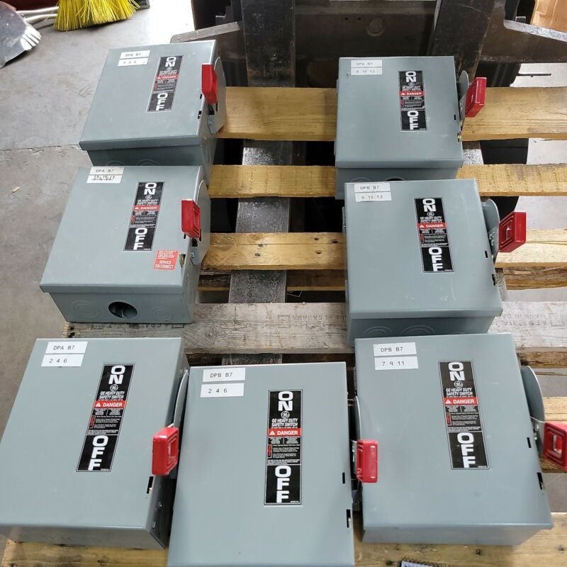 General Electric GE THN3361 30A 600V Non-Fusible Safety Disconnect Switch