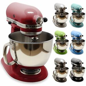 NEW-KitchenAid-Artisan-KSM150PS-5-Qt-Tilt-Head-Stand-Mixer-with-Pouring-Shield