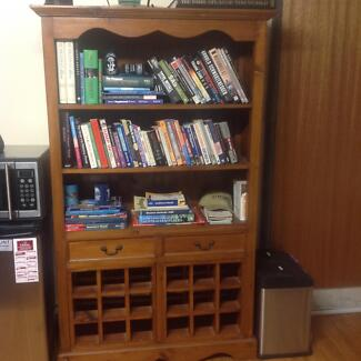 Large hardwood bookcase North Nowra Nowra-Bomaderry Preview