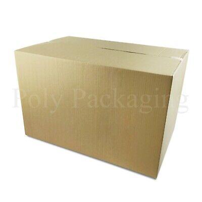 "5 Foolscap Box File Archive Cardboard Boxes 15.75 x 4 x 11/"""