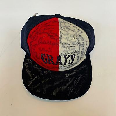 ffd2871616ebe Rare Negro League Greats Signed Homestead Grays Hat With 56 Signatures!