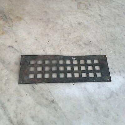 Antique small copper vent plate
