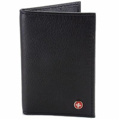 Gio Card Case Wallet by Apline Swiss use as a slim front poc