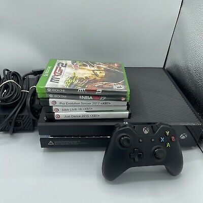 Microsoft Xbox One 500GB (1540) Home Console Bundle With 5 Games