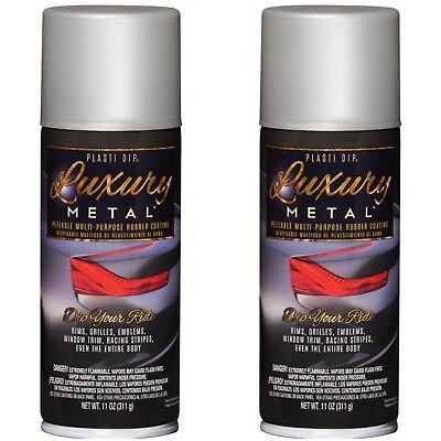 Performix Plasti Dip 11351 Luxury Rubber Coating Satin White Luxury Two 2cans
