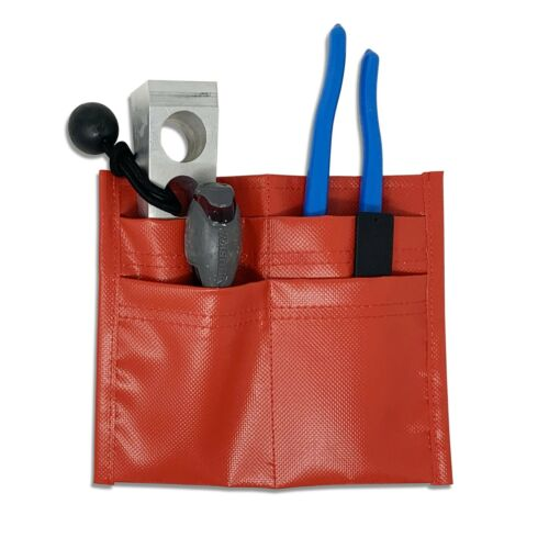 Firefighter Turnout Gear Pocket Tool Organizer - 4 Pockets - Easy Access